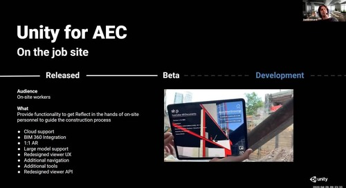 The Future of Unity for AEC
