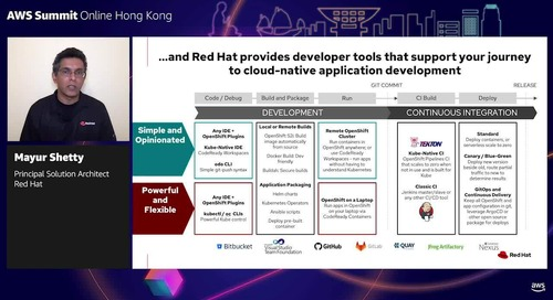 Sponsored by Red Hat: 5 ways to speed up dev and deployments with OpenShift on AWS