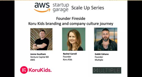 AWS Scale Up Series Episode 2- Branding and Culture