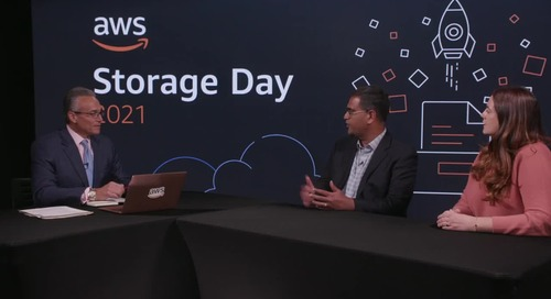 theCUBE Interview with Ashish Palekar, General Manager of EBS Snapshots, and Cami Tavares, Senior Manager of Amazon EBS