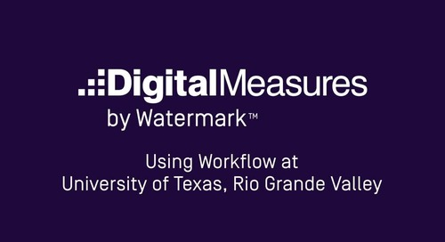 Using Workflow at University of Texas - Rio Grande Valley