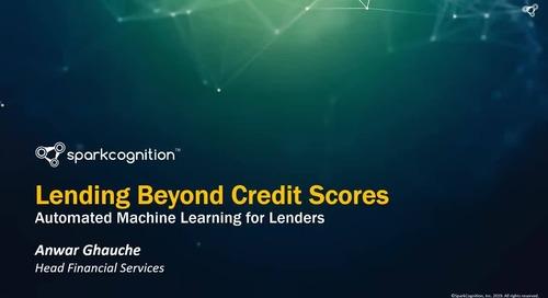 Lending Beyond Credit Scores Webinar