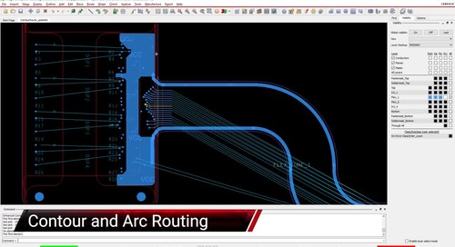 Contour and Arc Routing - Feature Video