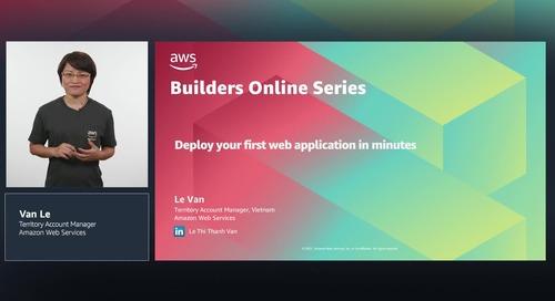 Cách triển khai ứng dụng web đầu tiên trong vài phút