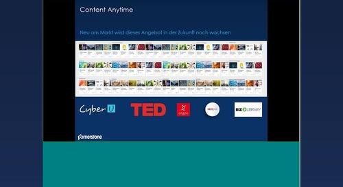Cornerstone Content Anytime - Die Zukunft für Content