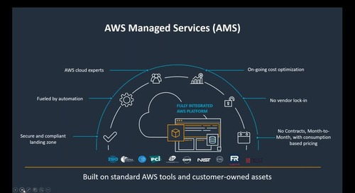 AMS 101: Introduction to AWS Managed Services