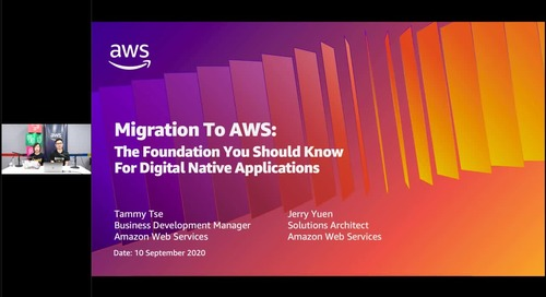 Migration To AWS - The Foundation You Should Know For Digital Native Application (Cantonese Webinar)
