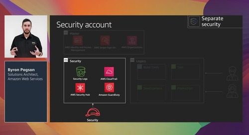 Cloud security for everyone: Multi-account strategy