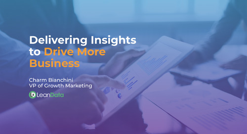 Delivering Insights To Drive More Business