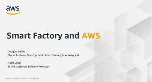 Smart Factory and AWS