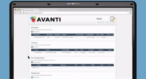 The Onboarding Process in Avanti