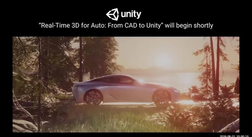 Unity for Auto: From CAD to Unity