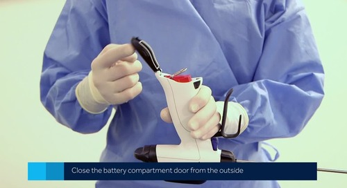 Video: Changing a Battery Pack on the Sonicision™ Curved Jaw Ultrasonic Dissection System