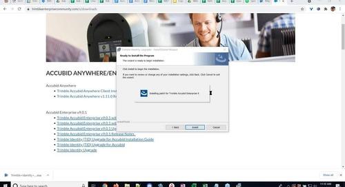 Accubid Enterprise Office Hours - TID Update Demo
