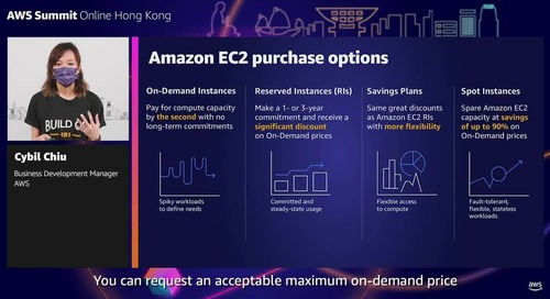 Selecting and optimizing Amazon EC2 instances featuring CBX Software (Level 200 - Intermediate)