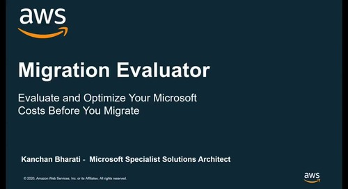 Evaluate and Optimize Your Microsoft Costs Before You Migrate