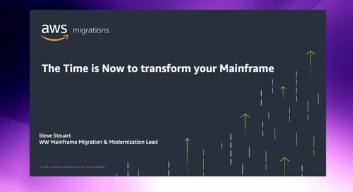 The Time is Now to transform your Mainframe [Level 100]