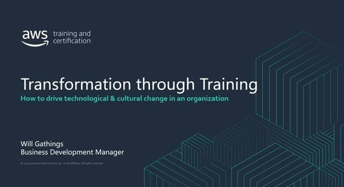 Transformation Through Training