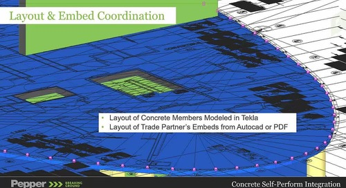 Digital Construction in Estimating, Planning and Managing Concrete Works