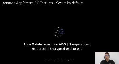 Despliegue de desktops y aplicaciones a cualquier ordenador con Amazon AppStream 2.0