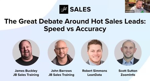 The Great Debate Around Hot Sales Leads: Speed vs Accuracy