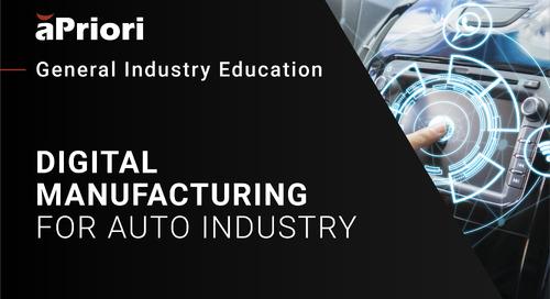 Automotive Manufacturers: Advancing the Vehicle Development Process