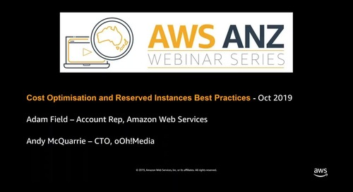 AWS Cost Optimisation RI Best Practices