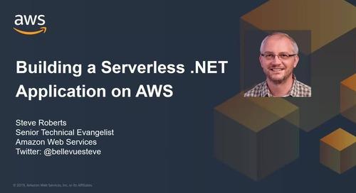 Video: Building a Serverless .NET Application on AWS