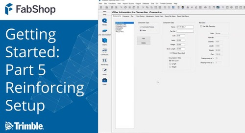 Getting Started with FabShop: Part 5 Reinforcing Setup
