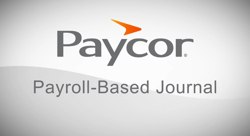 What Are Payroll-Based Journals?
