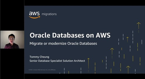 Migrate or modernize Oracle Databases on AWS