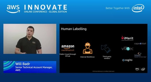 Accurately automating dataset labeling using Amazon SageMaker Ground Truth - AWS Innovate
