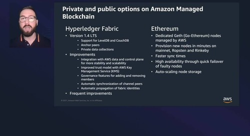A Hands-On Introduction to Amazon Managed Blockchain