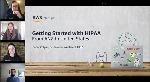 Introduction to HIPAA for ANZ Healthcare Startups - Webinar