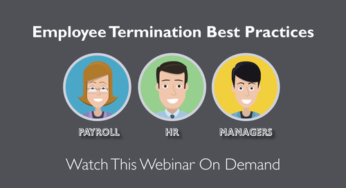 Employee Termination Best Practices