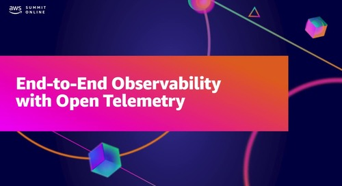 End-to-end visibility in the cloud with OpenTelemetry (Sponsored by Splunk)