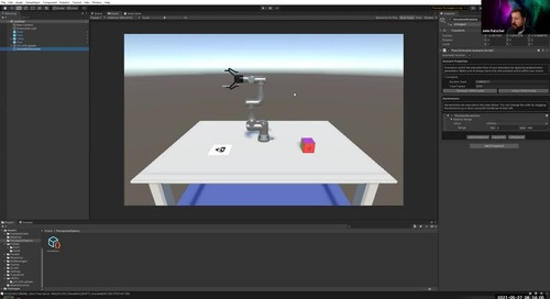 Getting Started with Machine Learning and Simulation with Unity