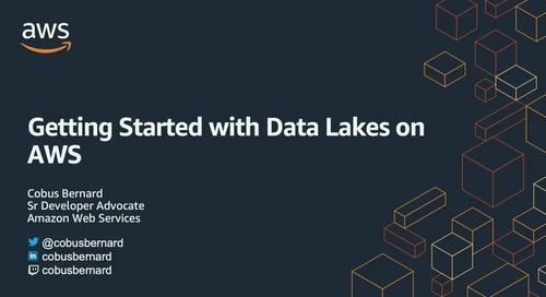 Getting Started with Data Lakes on AWS