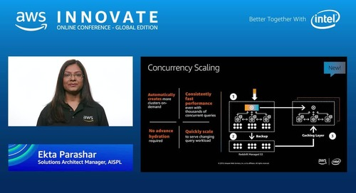 Data warehousing in the cloud - AWS Innovate