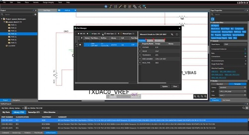 Part Manager - System Capture Feature Video