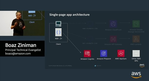 Modernize your Websites and Applications with AWS