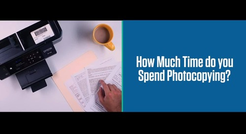 How much time do you spend faxing and copying documents?