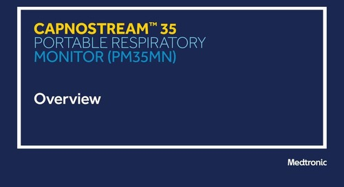 Module 1: Capnostream™ 35 Overview
