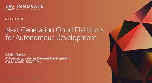 Next Generation Cloud Platforms for Autonomous Development