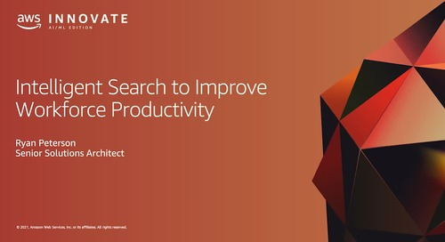 Intelligent Search to Improve Workforce Productivity