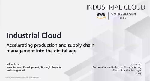 Industrial Cloud: Digitally Transforming Automotive Manufacturing