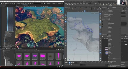 Directed Procedural Workflows with Houdini and Unity