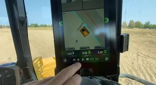 [Video] Trimble Earthworks - Dozer Horizontal Steering