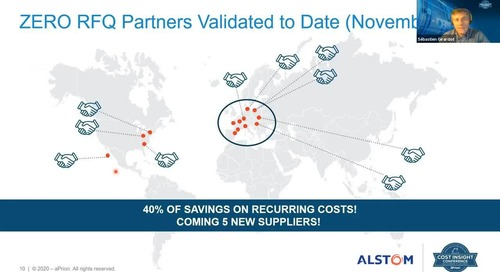 Zero RFQ Process - Alstom - Zero RFQ Supplier Partners and Savings