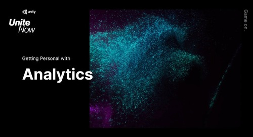 Getting Personal with Analytics –Unite Now